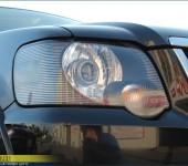 Установка биксеноновых линз и покраска внутренностей фар в черный матовый цвет на Форде Эксплорере ( Ford Explorer )