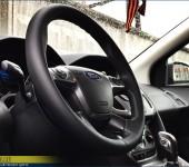 Перетяжка руля в Форде Фокусе (Ford Focus) 3 в эко-кожу Наппа