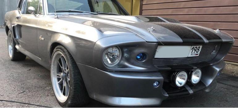 Реставрация Форда Мустанга Элеанор (Ford Mustang Eleanor) 1967 года выпуска