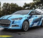 Установка диффузора на задний бампер Форд Мондео (Ford Mondeo)