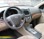Перетяжка руля и ручки АКПП в натуральную автомобильную кожу на Хёнде ( Hyundai ) iX55