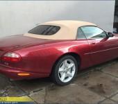 Замена кабриолетного верха на Ягуаре (Jaguar) XK8