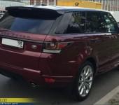 Небольшой тюнинг нового Range Rover Sport