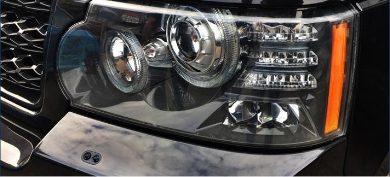 Ремонт фар на Рейндж Ровер Спорт (Range Rover Sport)