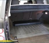 Установка активного сабвуфера Пионер ( Pioneer ) в багажник Range Rover 2012 года