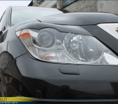 Изготовление ресниц на фары на Лексусе ( Lexus ) LX570