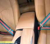 Установка цветных ремней безопасности в стиле GUCCI на Лексус (Lexus) RX