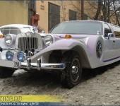 Сложная покраска лимузина Lincoln Town Car