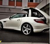 Ремонт гидравлической системы кабриолета Мерседес (Mercedes) SLK R172
