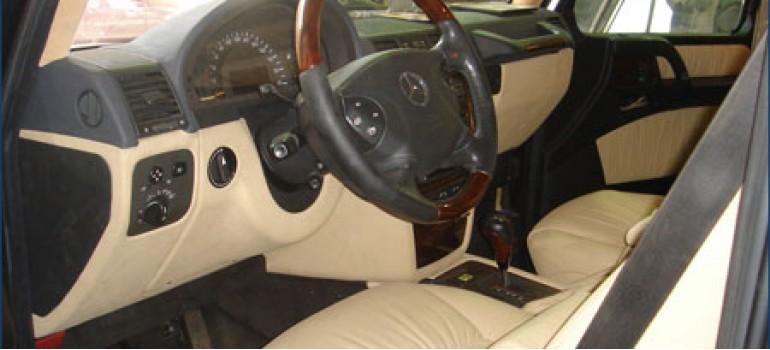 Тюнинг салона Mercedes G-Klasse