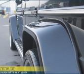 Ремонт тюнингового обвеса Hamann на Mercedes G55 AMG