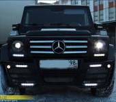 Красивый тюнинг от АСМА ( ASMA-tuning ) для Mercedes G-Klasse