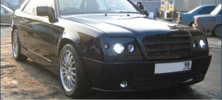 Комплексный тюнинг Mercedes Benz W124 Coupe