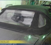 Mercedes W129 - замена кабриолетного стекла