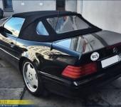 Замена кабриолетного стекла и небольшой ремонт механизма на кабриолете Мерседес (Mercedes) SL W129