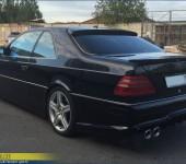 Накладка на заднее стекло для Мерседеса (Mercedes Benz) CL W140 Coupe