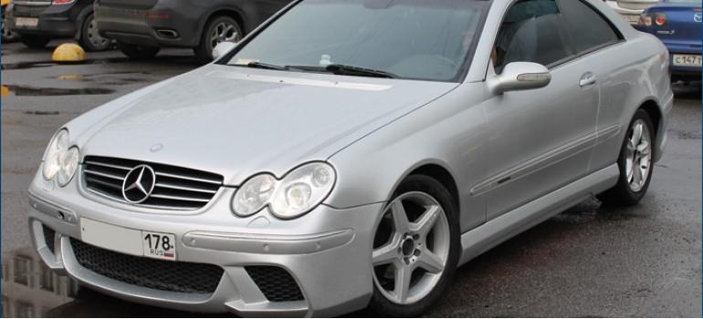 Изготовление, установка и покраска эксклюзивного обвеса в стиле WALD на Мерседес ( Mercedes ) CLK W209