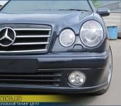 Установка и покраска аэродинамического обвеса Lorinser на Mercedes W210
