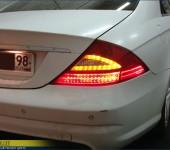 Установка рестайлинговых фонарей на Мерседес ( Mercedes ) CLS W219
