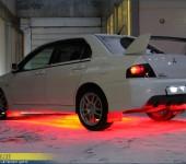 Светодиодный тюнинг Мицубиси Эволюшн ( Mitsubishi Evolution )