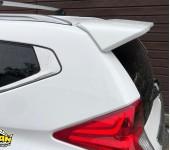 Установка спойлера на заднюю, багажную дверь на Мицубиси (Mitsubishi) Pajero Sport