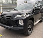 Антихром деталей экстерьера на новом Митсубиши (Mitsubishi) Pajero Sport
