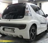 Изготовление обвеса на Пежо ( Peugeot ) 107