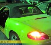 Ремонт кабриолетного верха ( замена стекла в тенте кабриолета ) на Porsche Boxter
