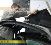 Замена мягкого стекла кабриолета на Порше Бокстер ( Porsche Boxter )