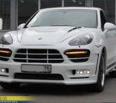 Профессиональная установка и покраска обвеса Guardian от Хаманн ( HAMANN ) на Порше Каенн ( Porsche Cayenne ) 958