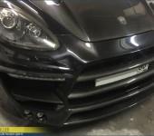 Небольшой ремонт обвеса Люмма (Lumma) на Порше Кайен (Porsche Cayenne) в кузове 958