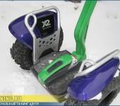 Покраска в фирменные цвета МЕГАФОНА электрических самокатов Segway