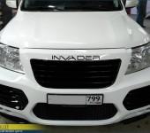 Ремонт аэродинамического обвеса Invader на Тойоте Ленд Крузере (Toyota Land Cruiser) 200