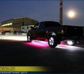 Установка светодиодной подсветки колесных дисков и подсветки под днище на Тойота Тундра ( Toyota Tundra )