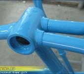 Покраска рамы велосипеда 1949 года выпуска