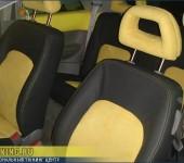 Перетяжка салона в алькантару и автомобильную кожу в Volkswagen New Beetle
