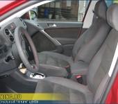 Перетяжка салона в кожу и алькантару в VW Tiguan