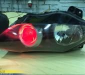 Установка подсветки линз в фары Ямахи ( Yamaha ) R1
