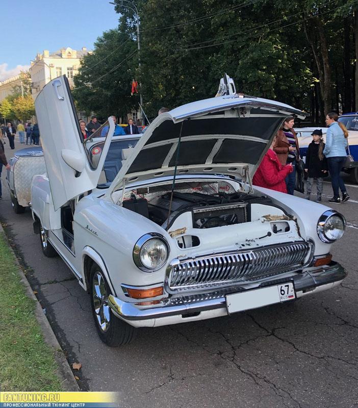 Беспощадный тюнинг Волги ГАЗ-21 - Ламбо-Двери и не только!