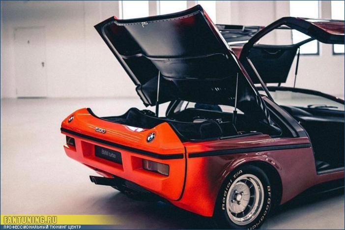 А вы знали, что есть BMW с дверями Gullwing (Крыло Чайки)?