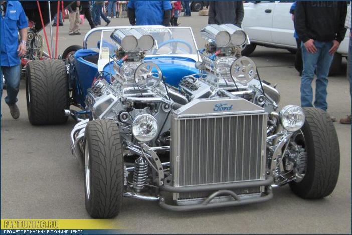 Нереально крутой Хот Род (Double Trouble Hot Rod) с двумя двигателями V8