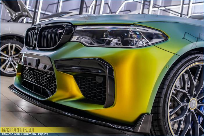 Новый аэродинамический обвес SCL на БМВ (BMW) M5 F90