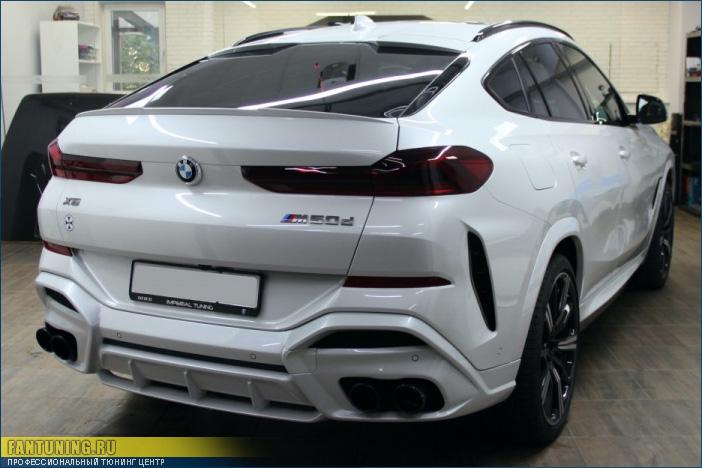 Аэродинамический обвес Falcon (Сокол) на БМВ (BMW) X6 G06