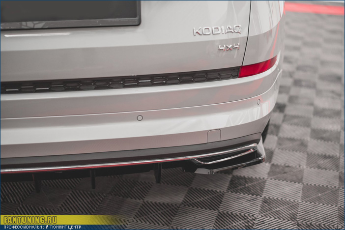 Аэродинамический обвес на Шкоду Кодиак (Skoda Kodiaq) Sportline/RS