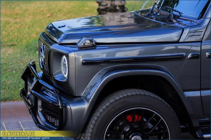 Бодикит для Сузуки Джимни (Suzuki Jimny) в стиле Mercedes G63 AMG