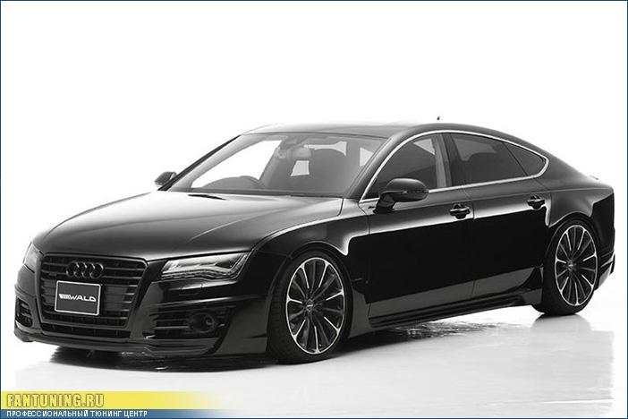 Аэродинамический обвес WALD Sports Line для Audi A7 (4G)