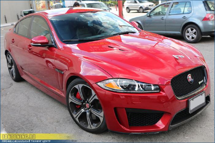 Рестайлинг Ягуара (Jaguar) XF в Jaguar XFR-S