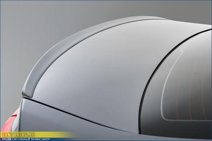 Аэродинамический обвес Barracuda на KIA Rio седан