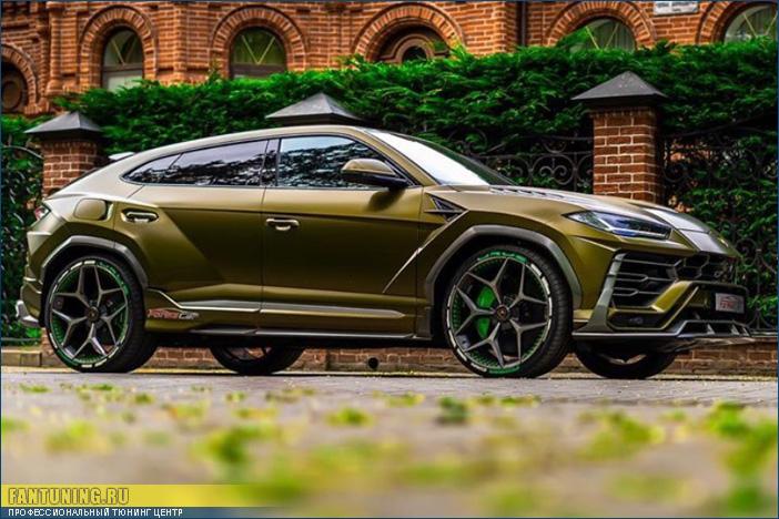 Аэродинамический обвес SCL на Лаборгини (Lamborghini) Urus