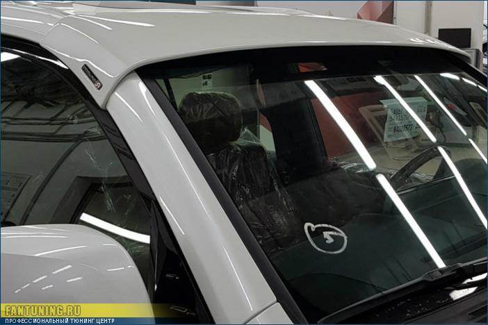 Козырек на лобовое стекло Lexus LX450d